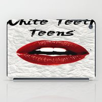 lorde iPad Cases featuring White Teeth Teens // Lorde  by Fan Merch