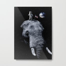 one giant step Metal Print