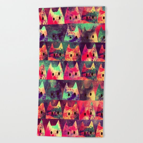 cats-131 Beach Towel