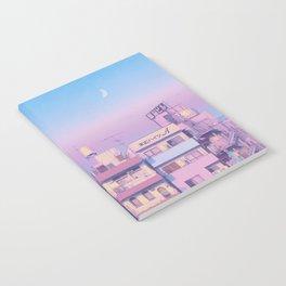 Morning Moon Notebook