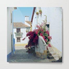 Portugal, Obidos (RR 185) Analog 6x6 odak Ektar 100 Metal Print