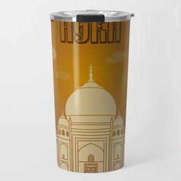 Agra vintage poster travel Travel Mug
