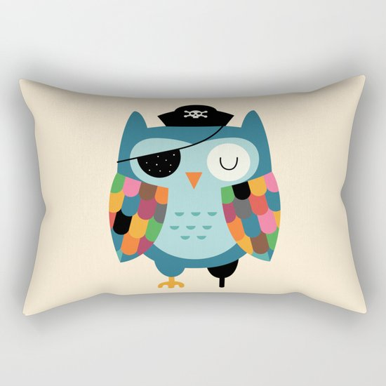 Captain Whooo Rectangular Pillow