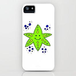childishly Hand drawn starfish iPhone Case