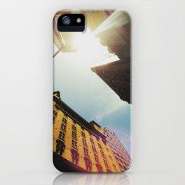 Lookin up iPhone Case