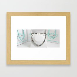 bijoux mm Framed Art Print