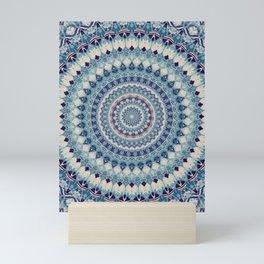 Mandala 587 Mini Art Print