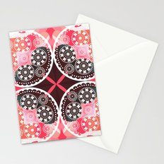 Pink illusion Stationery Cards