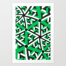 Power pattern 2 Art Print