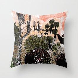 Dreamland Throw Pillow