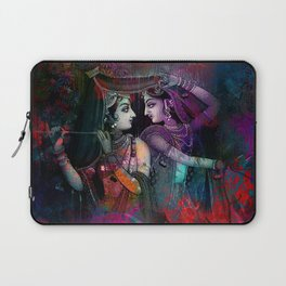 Radha Krishna- the divine Laptop Sleeve