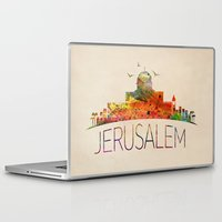 israel Laptop & iPad Skins featuring israel by mark ashkenazi