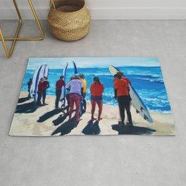 Surf Line Up Rug