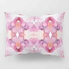 Dreamy Pink Palette (Abstract Painting) Pillow Sham