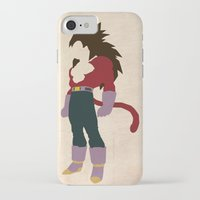 vegeta iPhone & iPod Cases featuring Vegeta SSJ 4  by JHTY