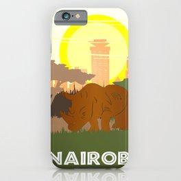 Nairobi National Park Kenya iPhone Case