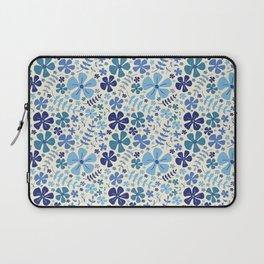 My Little Garden blue & green Laptop Sleeve