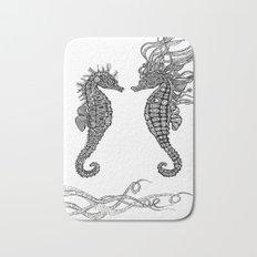 Seahorses love Bath Mat