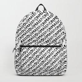 OUI MAIS NON Backpack