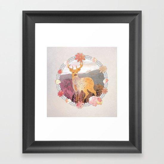 FLORA & FAUNA Framed Art Print