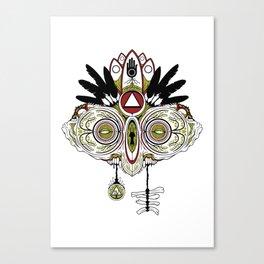 Death Mask 2 Canvas Print