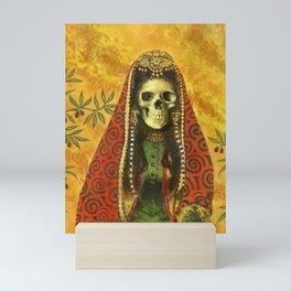 Gothic Decorative Skeleton Mini Art Print