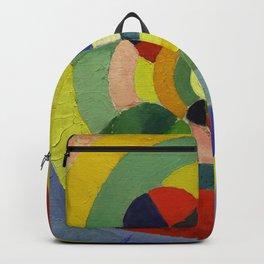 "Robert Delaunay ""Circular Forms"" (detail) Backpack"