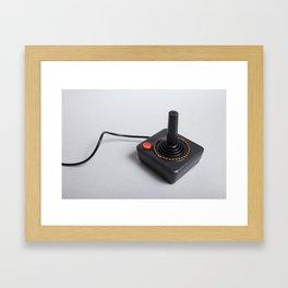 Atari joystick Framed Art Print