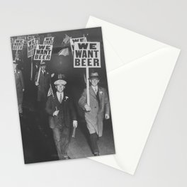 We Want Beer Stationery Cards