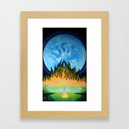 melancholia 1.0 Framed Art Print