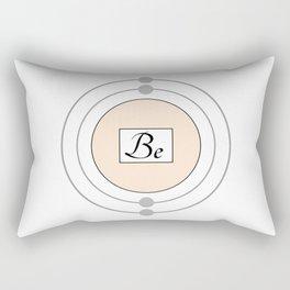 Beryllium - Bohr Model Rectangular Pillow
