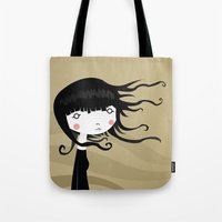 wind Tote Bags featuring Wind by Volkan Dalyan