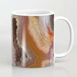 Earthy Quartz Crystal Druzy Coffee Mug