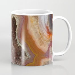 Earthy Quartz Crystal Druzy Coffee Mug
