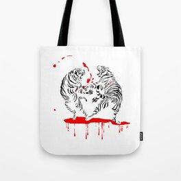 Tora Tora! // (tiger fight) Tote Bag