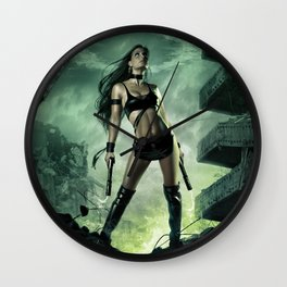 The Wreckage Wall Clock
