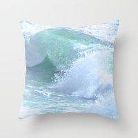 splash Throw Pillows featuring SPLASH by Teresa Chipperfield Studios