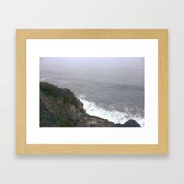 Land's End, Oceans Begin Framed Art Print