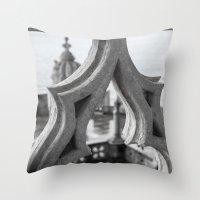 architecture Throw Pillows featuring Architecture by Sébastien BOUVIER