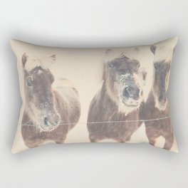 """here's looking at you kid ... "" Rectangular Pillow"