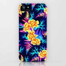 Coral Carnation - Yellow/Blue Slim Case iPhone (5, 5s)