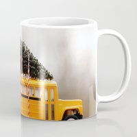 christmas tree Mugs featuring Christmas Tree by Beverly LeFevre