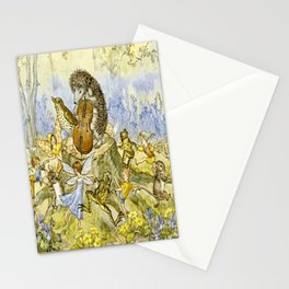 """""""Forest Festivities"""" by Molly Brett (1924) Stationery Cards"""