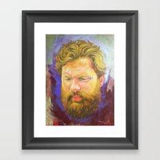 B.H. Framed Art Print