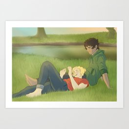 The Cynic and The Believer Art Print