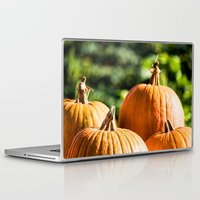 vegetable Laptop & iPad Skins featuring  autumn vegetable by Karl-Heinz Lüpke