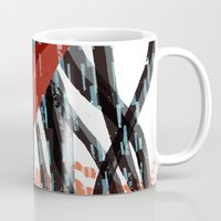 nightcrawler Mugs featuring Necklace of Skulls - Nightcrawler by Necklace of Skulls