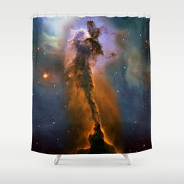 Stellar Spire in the Eagle Nebula Shower Curtain