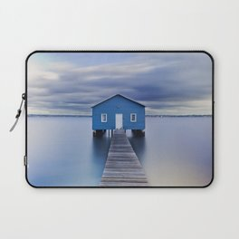 Blue Boat House Laptop Sleeve