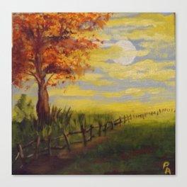 Summer's Sunset Canvas Print